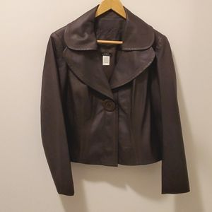 Vex Collection Jacket Faux Leather